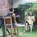 Interviewing Project Mingueo leader, Fabiola Fuentes.