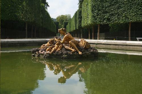 Le bassin de Bacchus