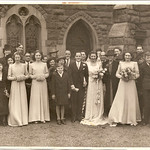 wedding of friend Gwen Smith 1943