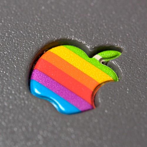 Embossed Apple logo   by Marcin Wichary