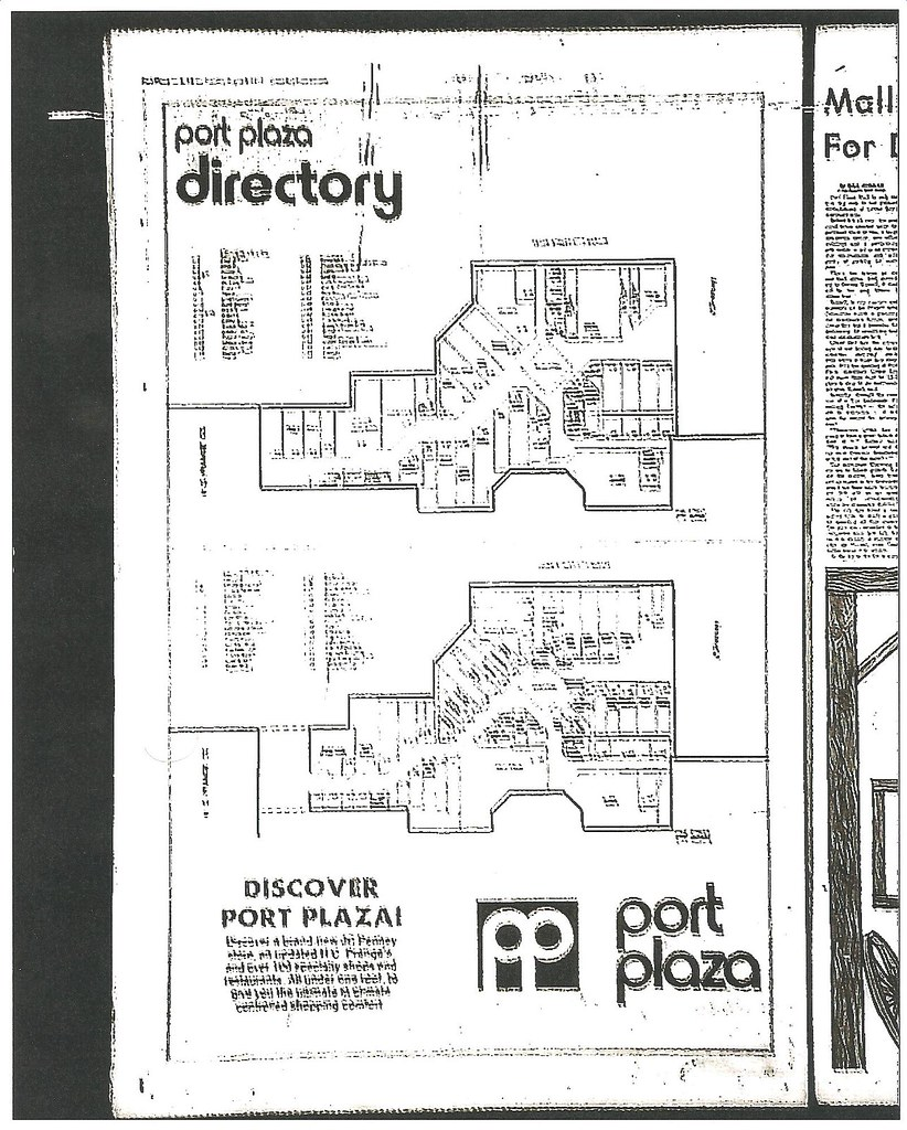 Port Plaza Mall Directory August 10 1977 Green Bay W Flickr