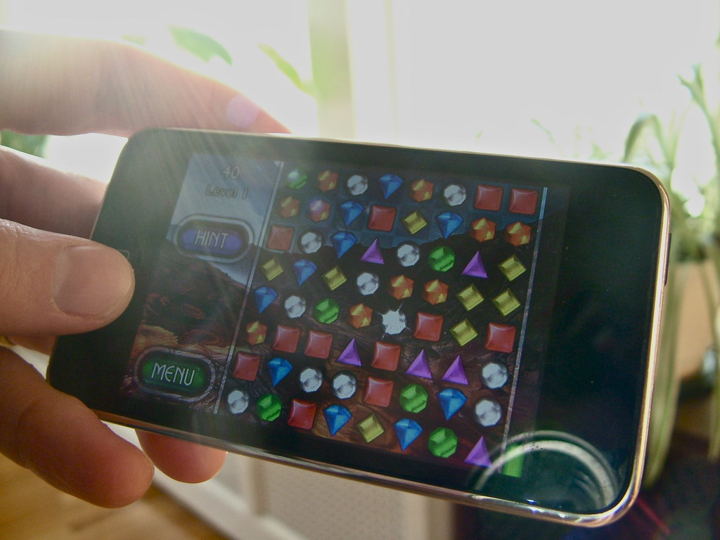 Mobile games - Bejeweled | Per the terms of this creative co… | Flickr