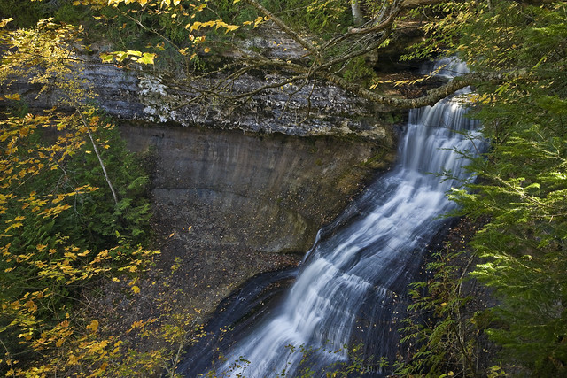 Chapel Falls, Pictured Rocks