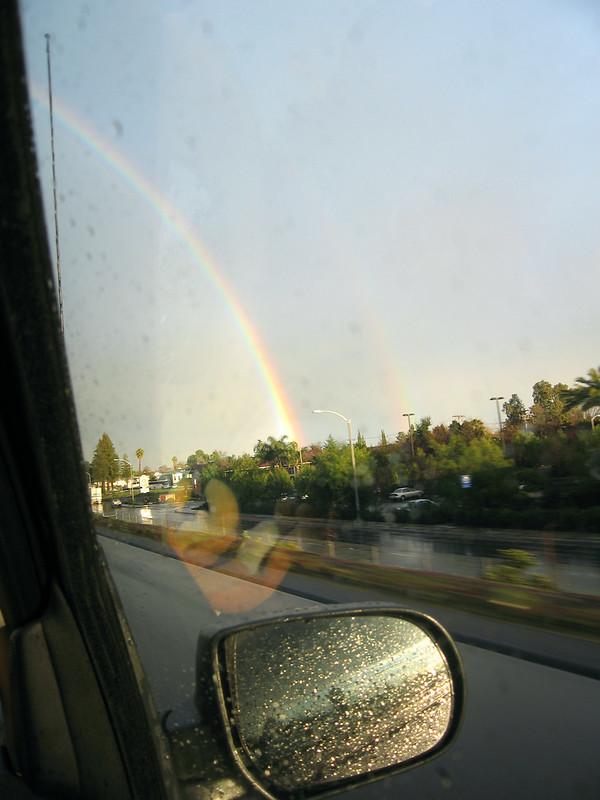 Driving into Visalia