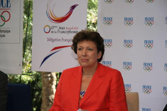 Visite du club France et de la ministre des sports Madame Bachelot