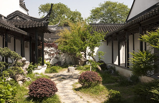 Garden in Prince Zhong's Mansion by IceNineJon