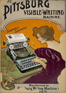 Pittsburg Visible-Writing Machine | by Art & Vintage