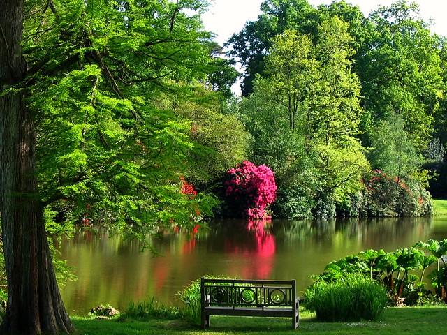 Sheffield Park, a National Trust Garden in East Sussex