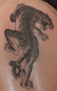 Old School Tiger Tattoo | by PauloTattoos