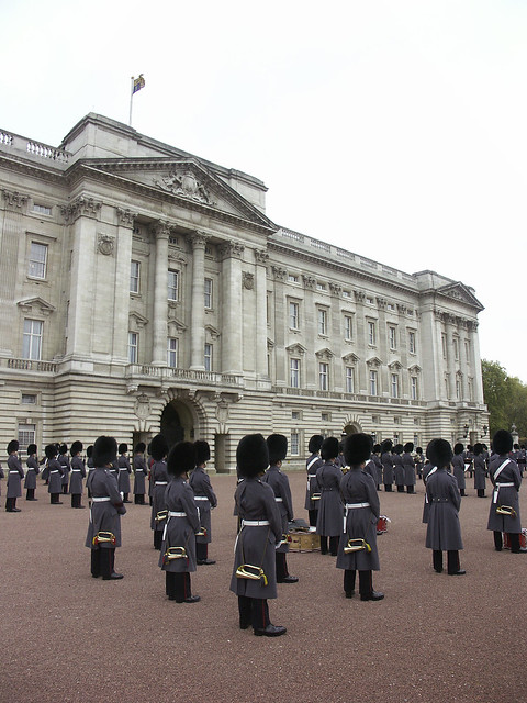 Changing the Guard - Buckingham Palace
