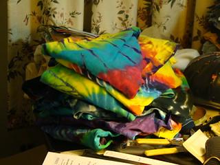 Para's TyeDye Shirts