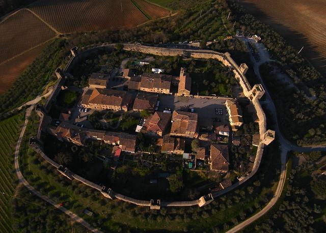Monteriggioni aerial view III - R178