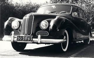 BMW 501 A 6-cilinder 1955 | Datum eerste afgifte Nederland ...