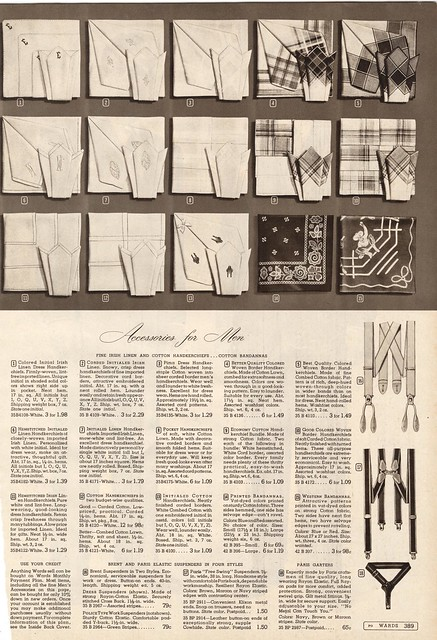 Handkerchiefs 1947