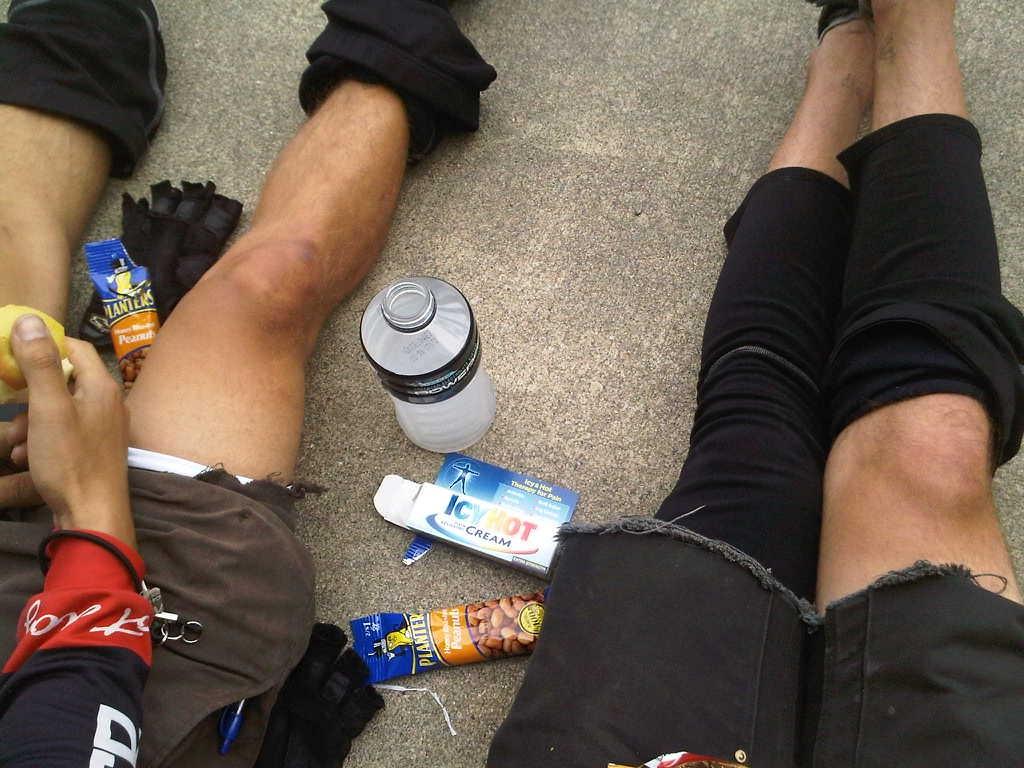 Snacks après le sport