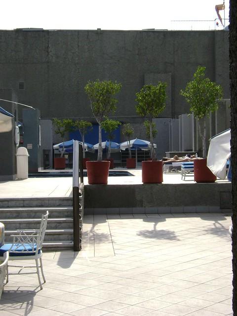Piscina y terraza, Hotel Galería Plaza, Zona Rosa, Ciudad de México/Pool and terrace, Galeria Plaza Hotel, Mexico City - www.meEncantaViajar.com