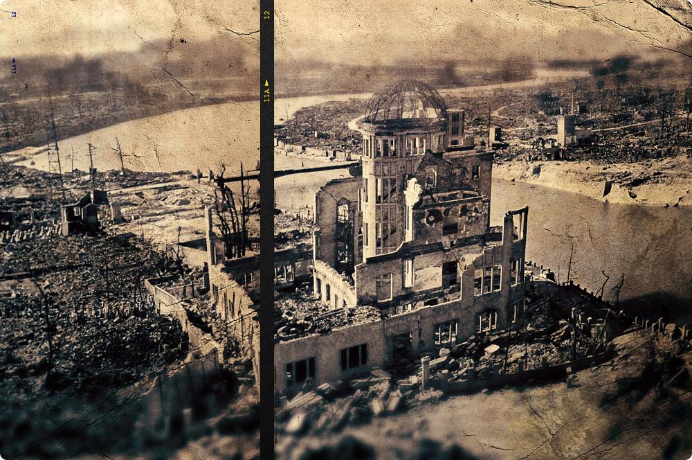 Ground zero. Hiroshima.