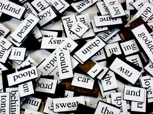 magnetic fridge poetry | by Steve A Johnson