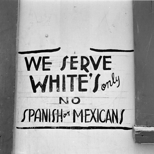 2. Whites Only sign - A Class Apart | by Camino Bluff
