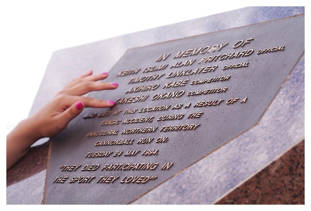 Cannonball Run Memorial