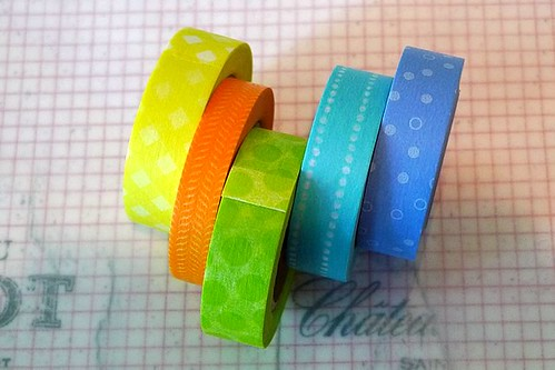 Custom Pretty Cool Color Washi Tape | by cutetape