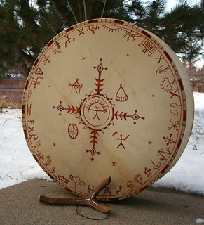 siperian style shaman drum | by Clouberry Market