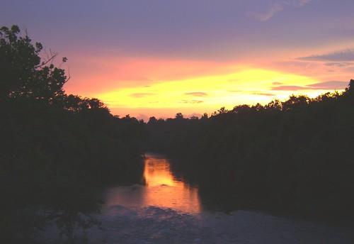 sunset keithhall yadkinriver yadkincounty