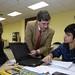 Vie, 05/03/2010 - 19:46 - Sesiones de trabajo del primer curso de los programas de Aulas de I+D y Jóvenes Científicos en Tecnópole