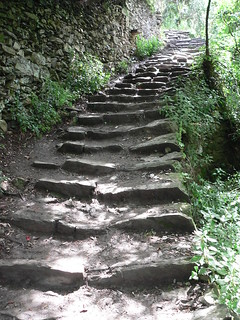 Steps on the Cinque Terre Trail | by Lee Edwin Coursey