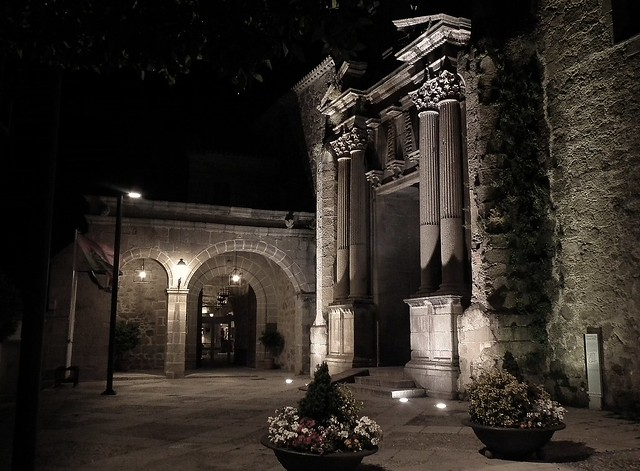 PLASENCIA AT NIGHT