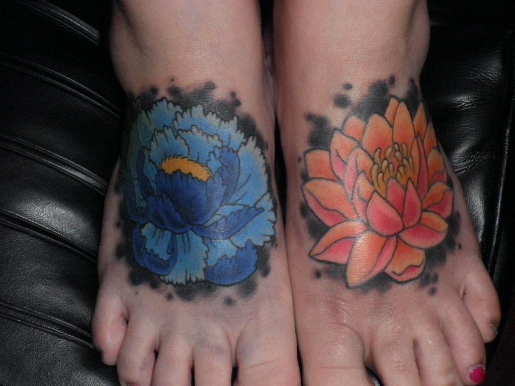 Peony Tattoo Flower Tattoo Lotus Tattoo Foot Tattoo Flickr
