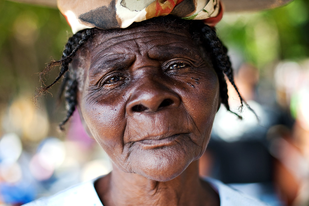 Old Haitian Woman by Dan. D.