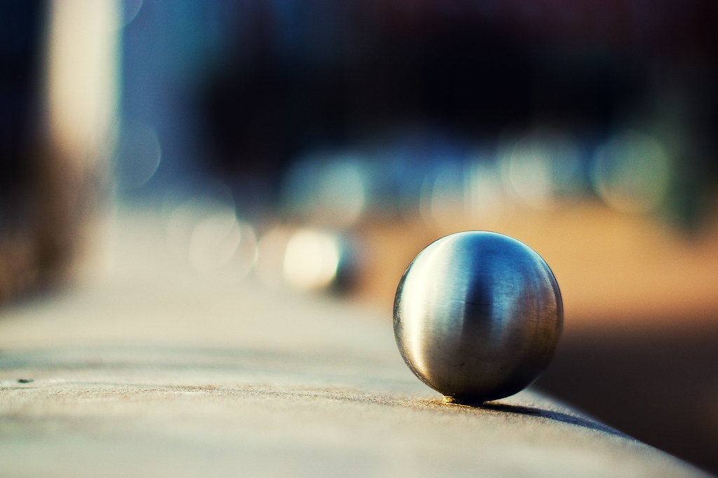 Project 365 Day 42: Silver Balls of Bokeh [Explored!] by Greg McMullin