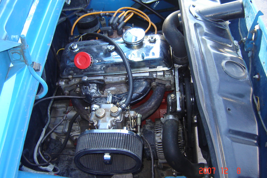 Renault 8 Ts Carlos Cabrera Flickr