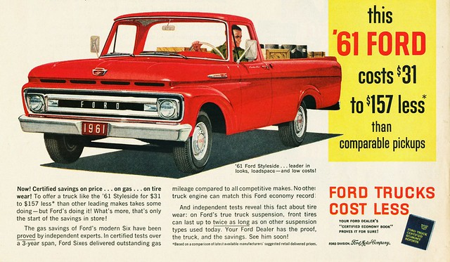 1961 Ford Styleside Pickup Alden Jewell Flickr