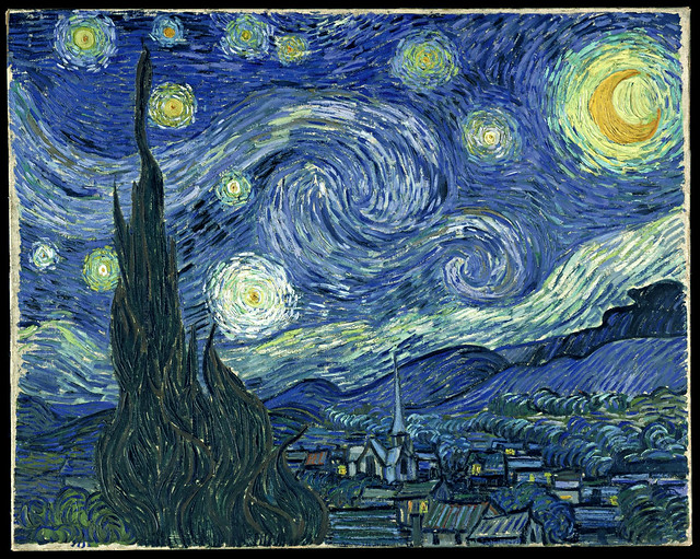 Vincent van Gogh: Starry night (1889)