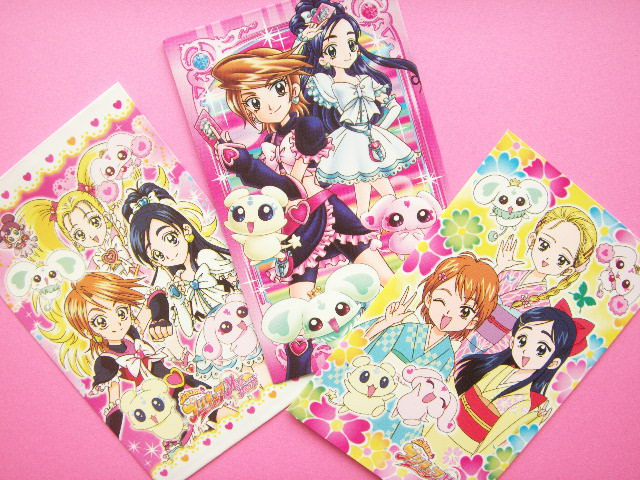Pretty Cure Mini Envelope Collection Japanese Anime