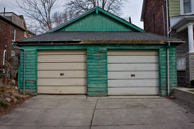 Two-Door-Garage
