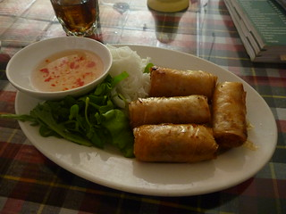 Vietnamese Fresh Spring Rolls | by In Vinnie Veritas