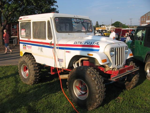AM General   Gone Postal - DJ-5 | Bloomsburg, PA 4 Wheel Jam
