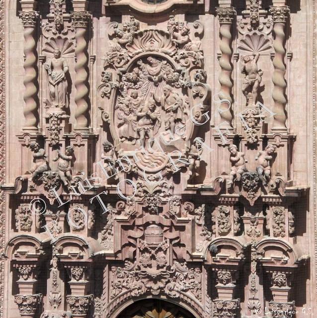 Santa Prisca - Detalles - Taxco - Guerrero - Barroco Churrigeresco