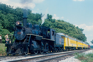 Strasburg Rail Road - Locomotive 89 and Train