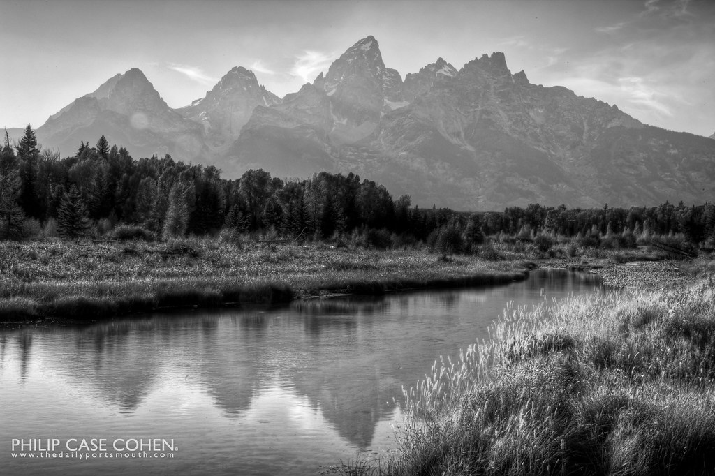 The Tetons by Philip Case Cohen