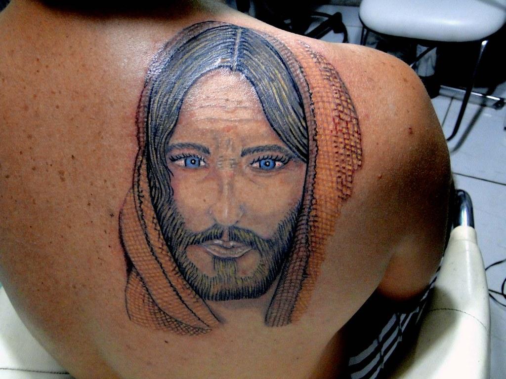 Tatuagem De Jesus Cristo By Jean Paul Zilli Wwwzillitatto