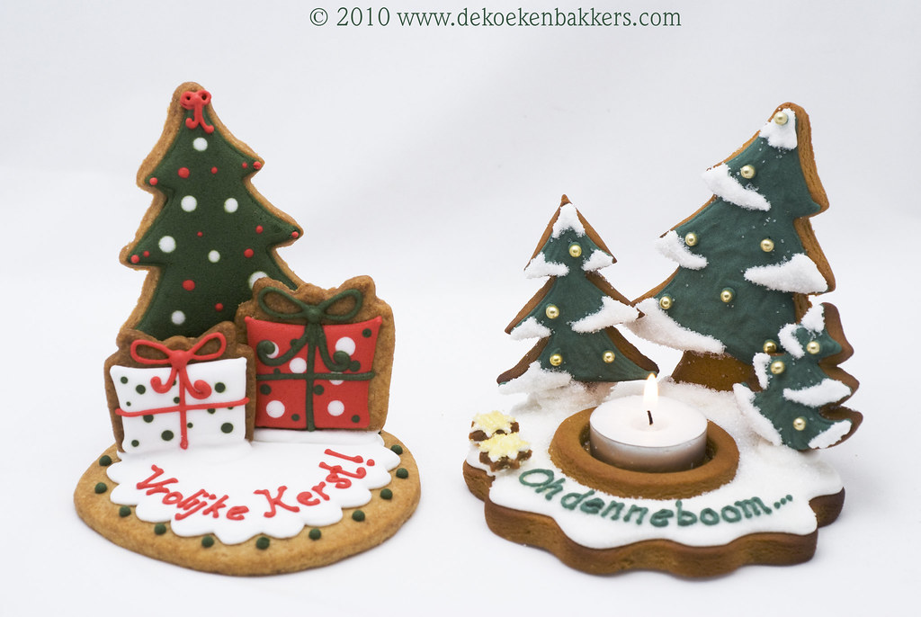3d Christmas Cookies For Mjamtaart Magazine My First Maga Flickr