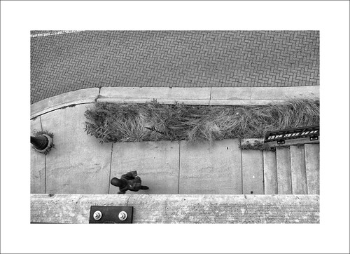 street streetshots streetphotography city urban blackandwhite bw stairs view people brick michigan annarbor annarbormi michiagn olympus olympusomd em5ii zuiko 14150mm zd