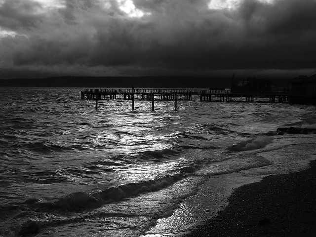 Port-Townsend-Pier-B&W