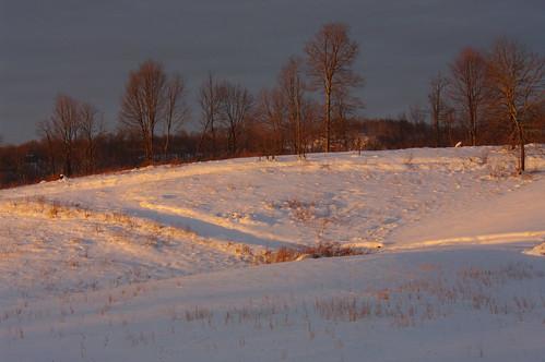 winter sunset snow mountains december hills westvirginia 2009 summerscounty jumpingbranch