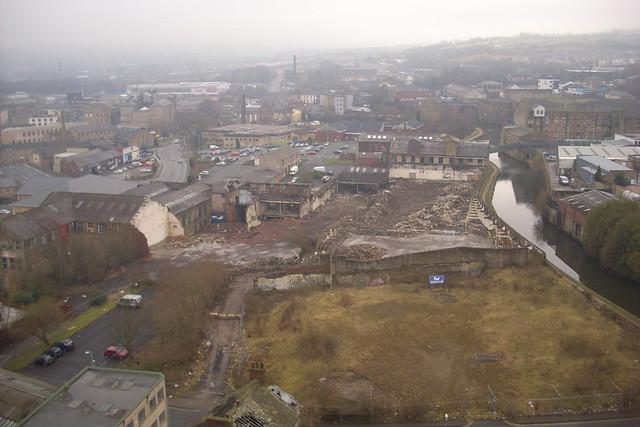 clock tower mill site,Burnley