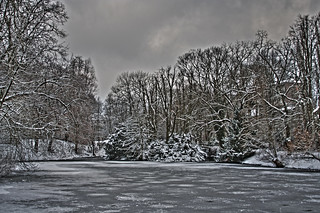 Winter in the Westpark of Aachen | by Peter Köves